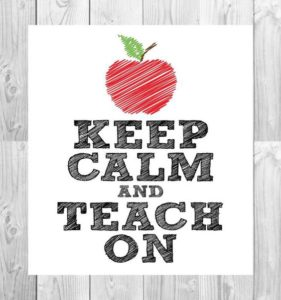 keep-calm-teach-on
